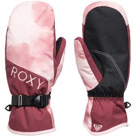Roxy Jetty Fäustlinge Damen silver pink tie dye